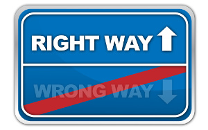 Going to the club - right or wrong way