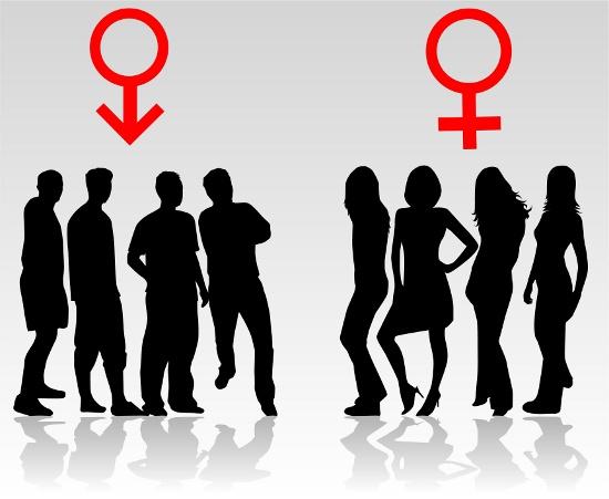 Women and men - swinger sex